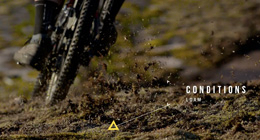Sports sound design mountainbike